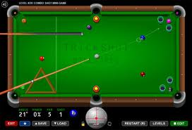 Trick Shot Billiards Game