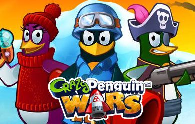Crazy Penguin Wars Game