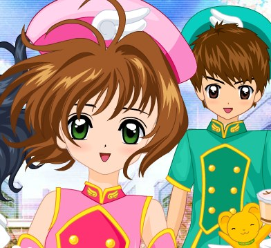 Cardcaptor Sakura Look Game