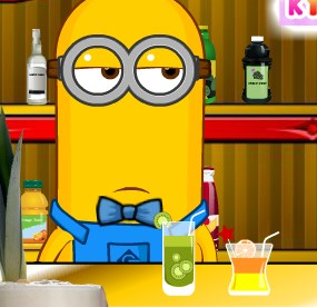 Minion Bartender Game