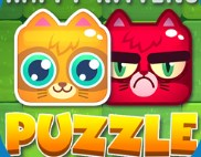 Happen Kittens Puzzle Game